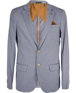 Scotch & Soda Light Blue Lightweight Cotton Jacket
