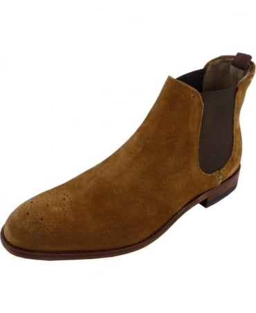 Oliver Sweeney Silsden Whisky Suede Chelsea Boot