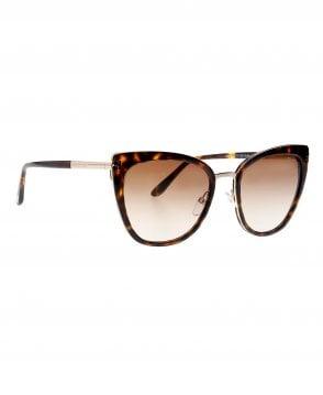 d88a12b0df Dark Havana Leo Square Polarized Sunglasses