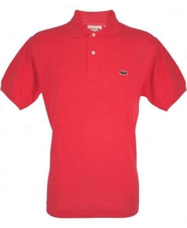 Lacoste Sirop Pink Classic Fit Polo Shirt