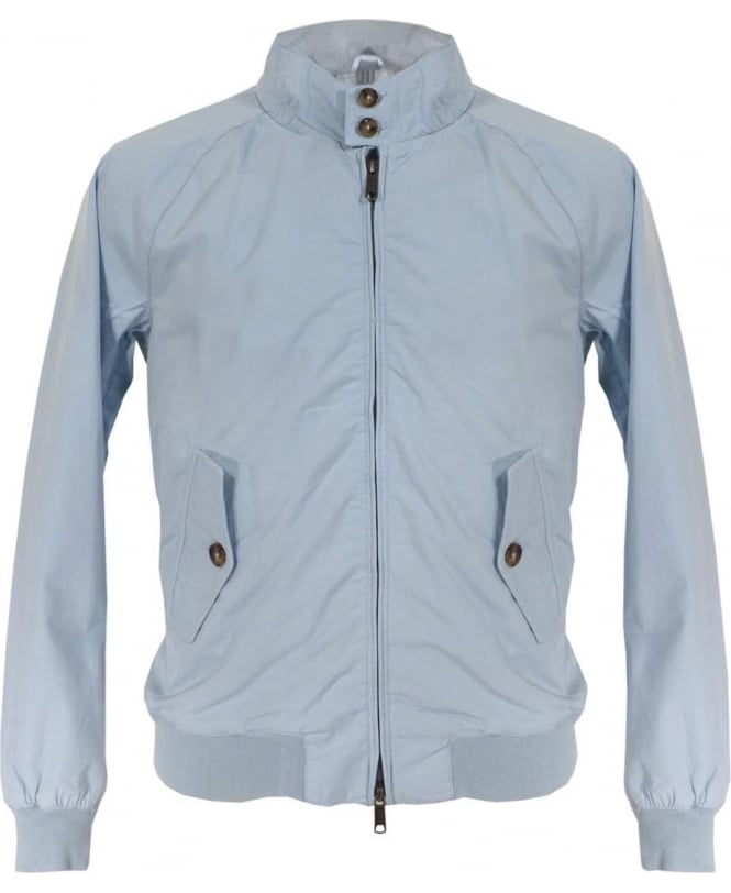 Baracuta Sky Blue Dyed Hastings Harrington Blouson Jacket
