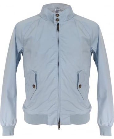 Sky Blue Dyed Hastings Harrington Blouson Jacket
