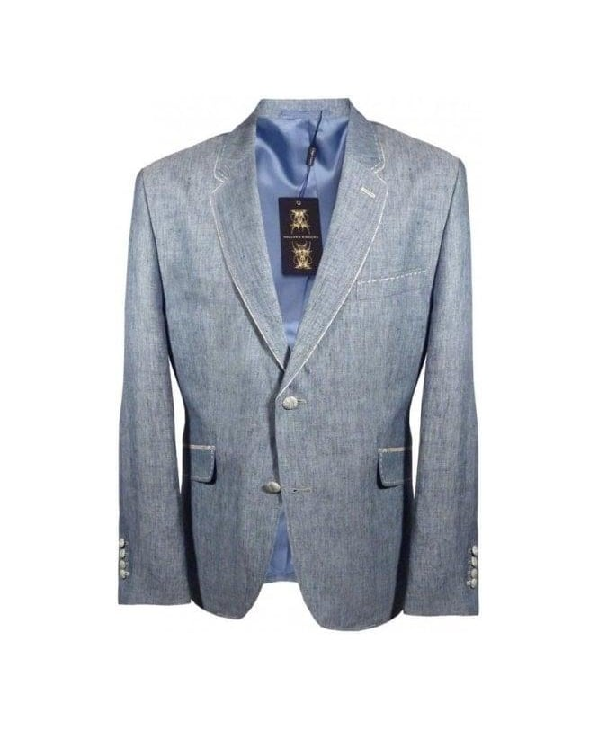 Holland Esquire Sky Blue Riding Pipe Jacket