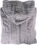Emporio Armani Smoke Grey 110799 Hooded Bathrobe