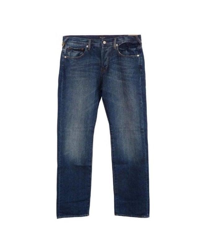 Paul Smith Standard Fit Mid Blue Jean