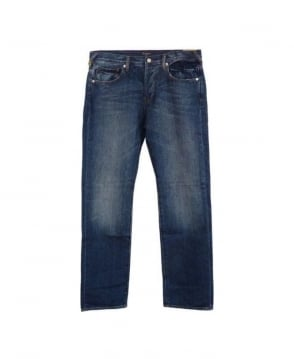 Paul Smith  Standard Fit Mid Blue Jean