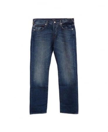 Paul Smith - Jeans Standard Fit Mid Blue Jean