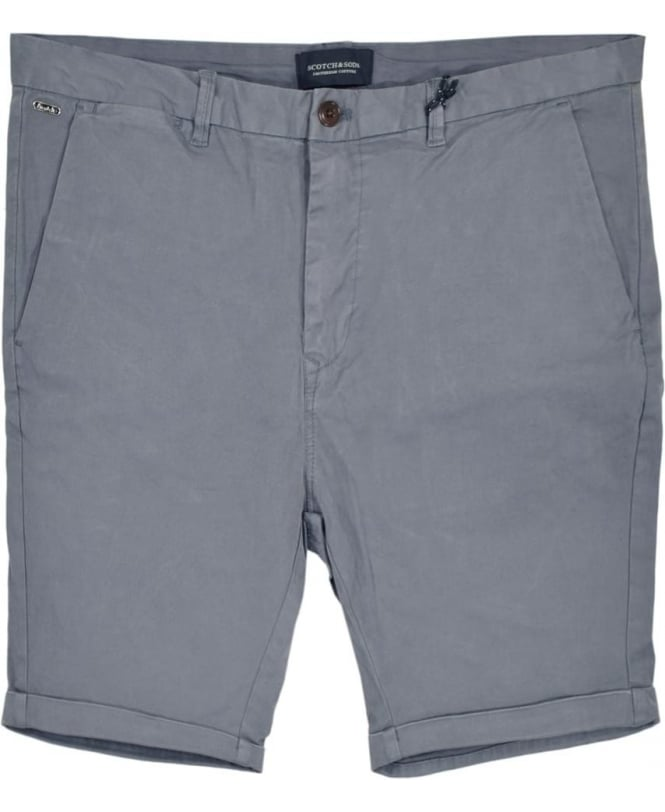 Scotch & Soda Steel 13632 Medium Length Chino Shorts