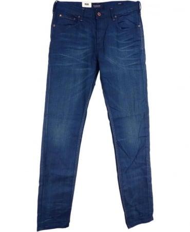 Scotch & Soda Stretch Denim Blue 85305 Skim Plus-Real Hit Jean