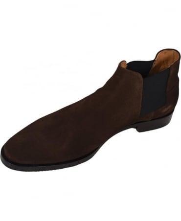 Oliver Sweeney Suede 'Venarotta' Chelsea Boots In Brown