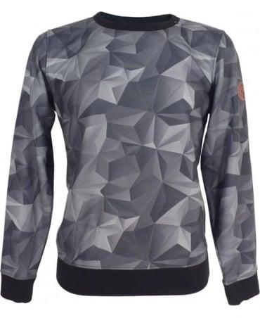 Replay Sweatshirt With Geometric Print