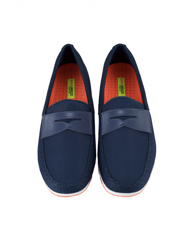 d957fb18559 Swims Navy Breeze Penny Loafer - Shoes from Jonathan Trumbull UK