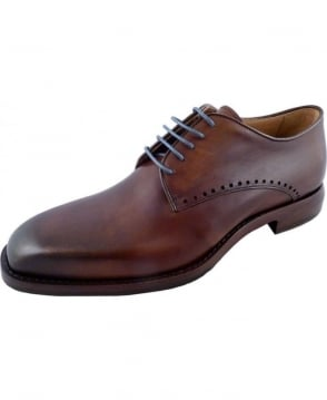 Oliver Sweeney Talotti Dark Tan Formal Leather Shoe