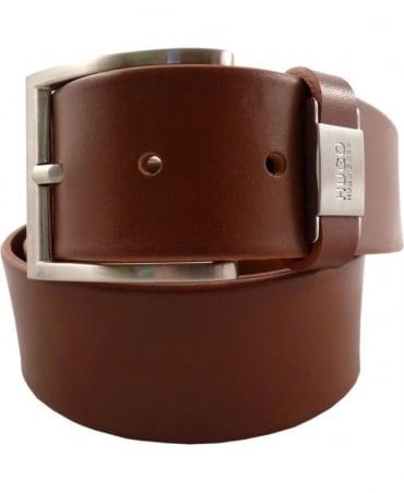 Hugo tan 50292592 C-Connio 40mm Width Belt