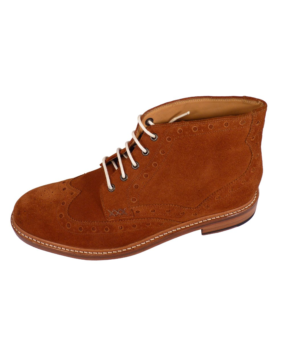 oliver sweeney benhall suede brogue boots oliver