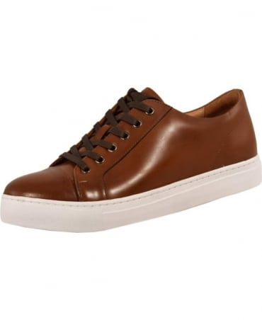 John White Tan 'Halcyon' Leather Trainer