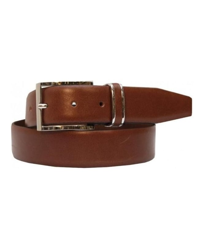 Hugo Boss Tan Leather Belt