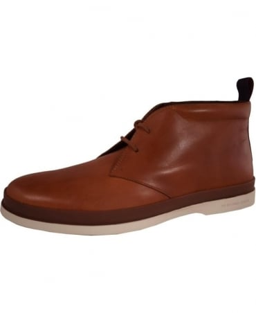 Paul Smith - Shoes Tan Leather 'Inkie' Boots