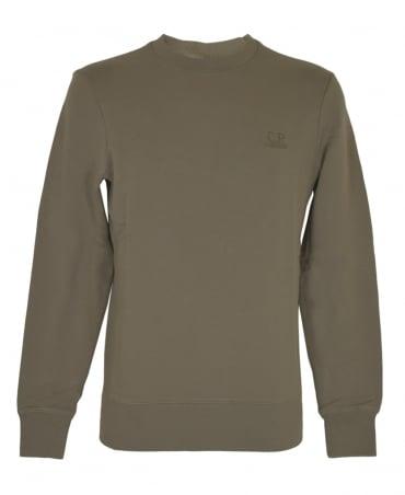 CP Company Taupe Crew Neck Sweatshirt