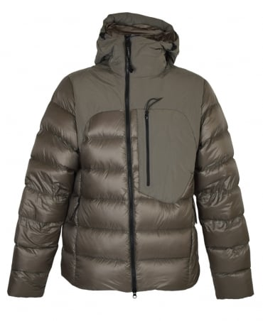CP Company Taupe D.D Shell Medium Padded Goggle Jacket