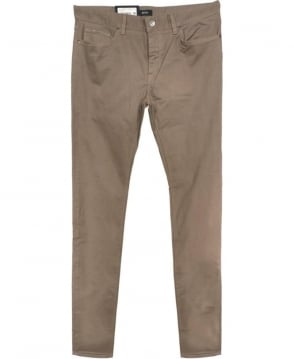 Hugo Boss Taupe Patterned Stretch Main3-20 Jeans