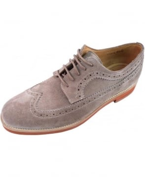 Gant Taupe Willow Suede Shoe