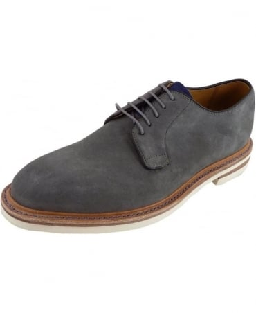 Oliver Sweeney Tenby Grey Calf Leather Derby Shoe