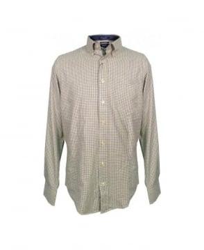 Gant Tent green Midtown Twill Check 399390 Shirt