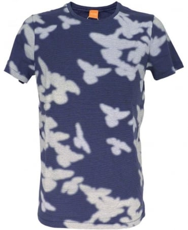 Hugo Boss 'Timperly' T-shirt In Blue