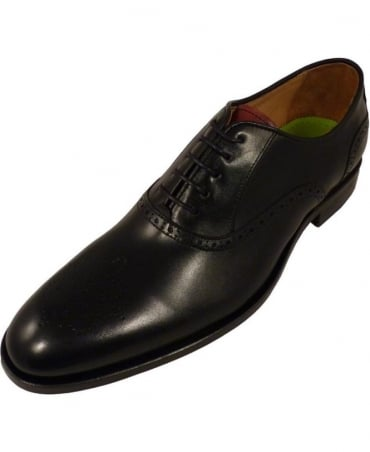 Oliver Sweeney Tondela Black/Brown Shoe