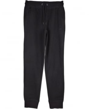 Armani Jeans Tracksuit Bottoms In Black