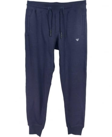 Armani Tracksuit Bottoms In Navy