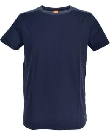 Hugo Boss 'Trike' Regular fit T-shirt In Dark Blue