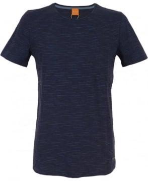 Hugo Boss 'Typicco' Cotton T-shirt In Dark Blue