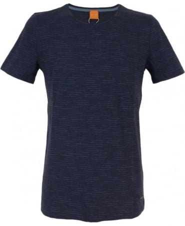Hugo Boss 'Typicco' Cotton T-shirt In Dark Blue