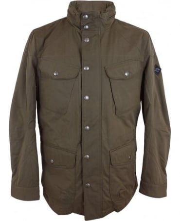 Hackett Velospeed Jacket In Taupe