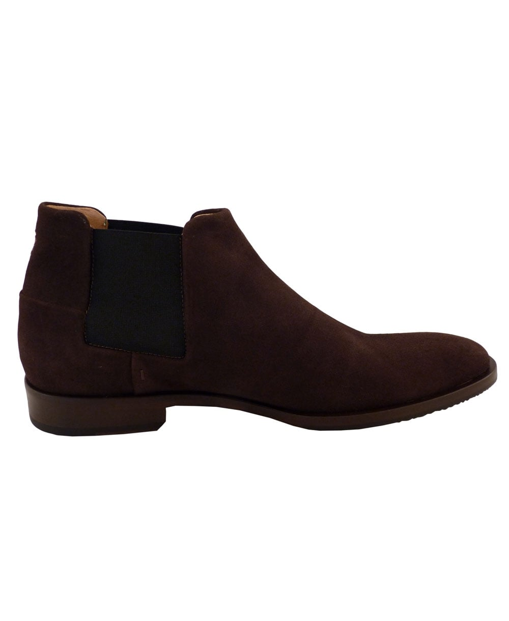 venarotta brown suede chelsea boot