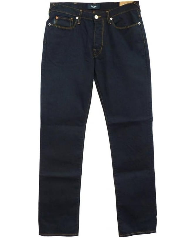 Paul Smith Very Dark Blue Drainpipe Jeans JKCJ/200M/106
