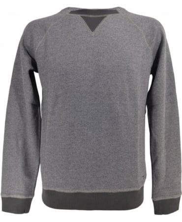 Hugo Boss 'Warys' Slim Fit Sweater In Mottled Cotton