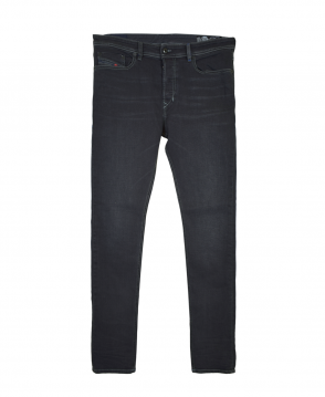 Diesel Washed Black Tepphar084HQ Carrot Jean