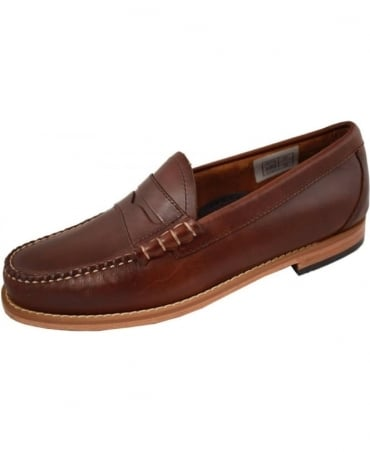 G.H. Bass & Co Weejuns Brown Larson Pull Up Loafers