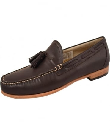 G.H. Bass & Co Weejuns Dark Brown Larkin Tassel Loafers