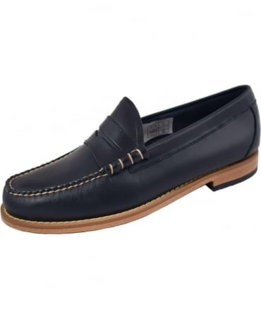 G.H. Bass & Co Weejuns Navy Larson Pull Up Loafers
