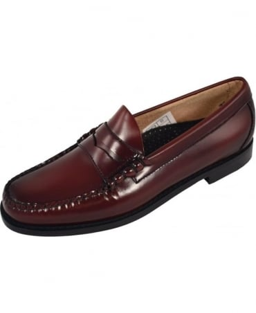 G.H. Bass & Co Weejuns Wine Larson Moc Penny Pull Up Loafer