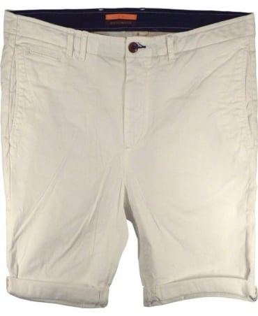 Scotch & Soda White 131019  Basic Chino Shorts
