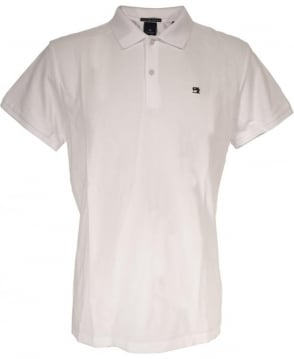 Scotch & Soda White 136523 Logo Polo Shirt