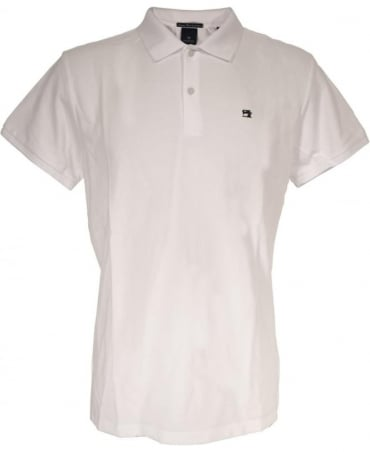 Scotch & Soda White 136523 Logo Polo Shirt