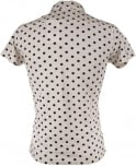 Scotch & Soda White 1501-02.55056 Large Spot Polo