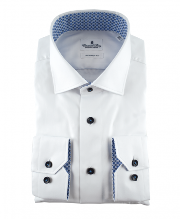 Emanuel Berg White  217-068 Shirt