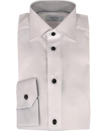Eton Shirts White 300000386 Contemporary Fit Shirt
